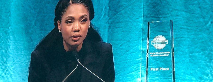 Ramona J. Smith, Campionessa Mondiale di Public Speaking 2018