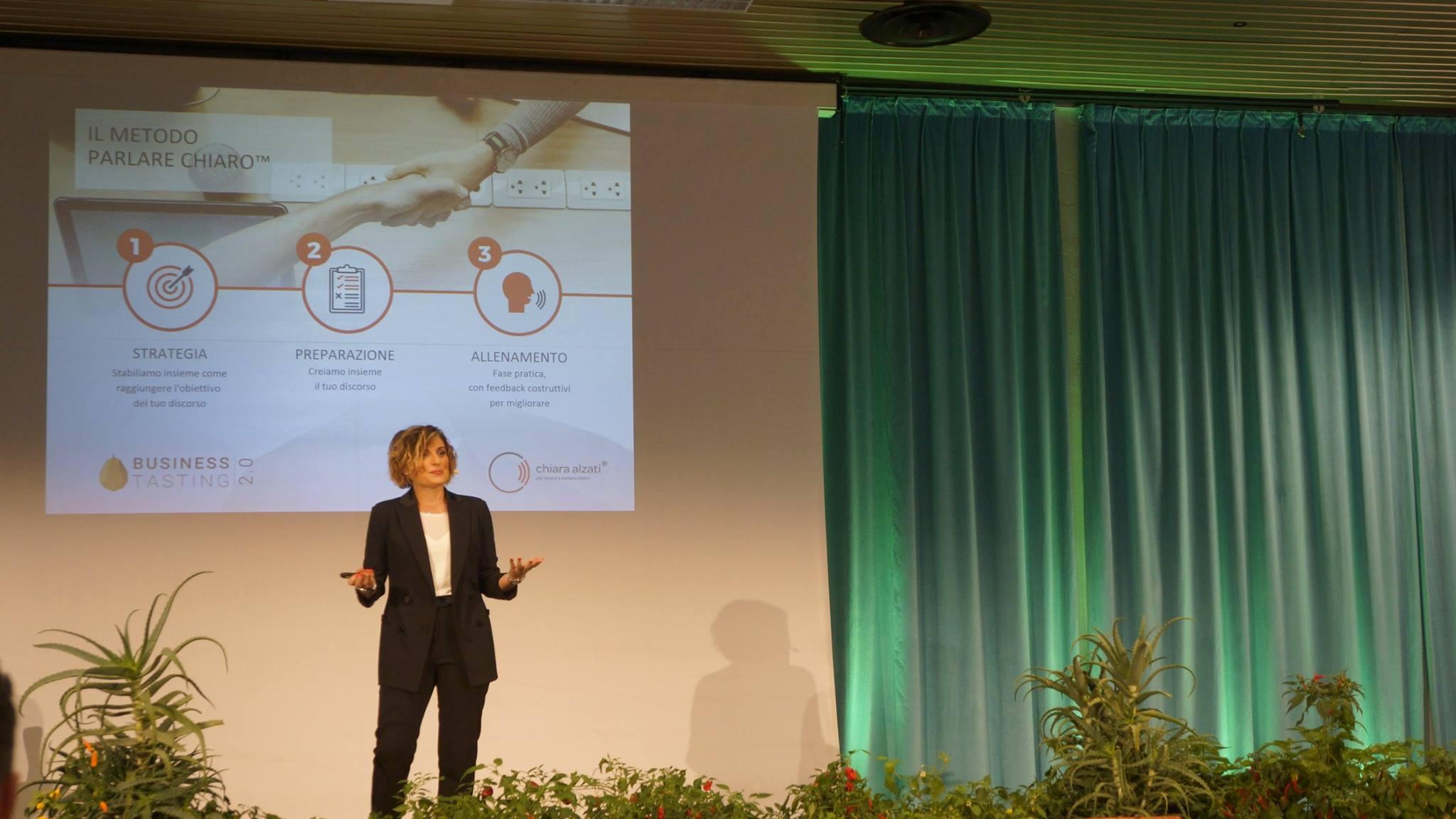 Chiara Alzati Public Speaking Metodo Parlare Chiaro