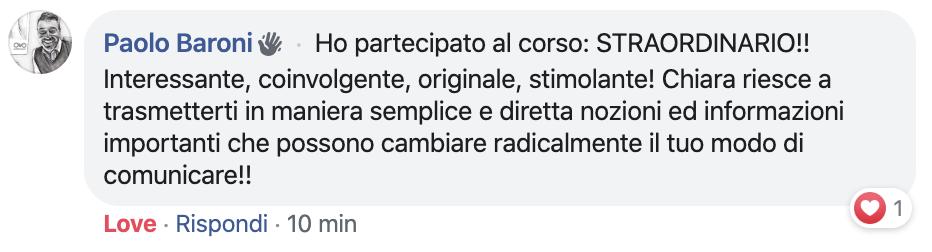 Chiara Alzati Corsi di Public Speaking