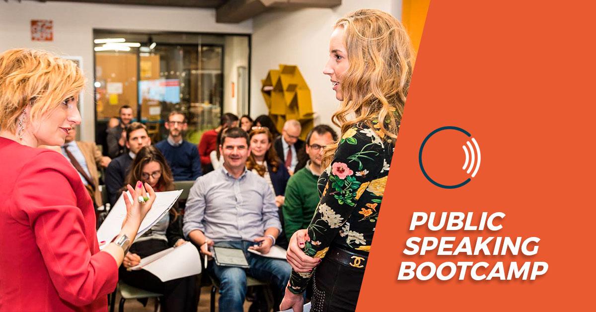 Chiara Alzati Public Speaking Bootcamp