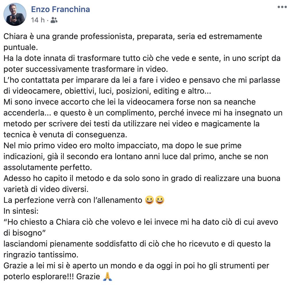 ENZO FRANCHINA
