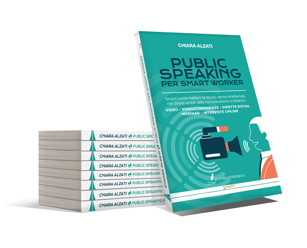Public Speaking per Smart Worker, ordina ora la tua copia gratuita del libro
