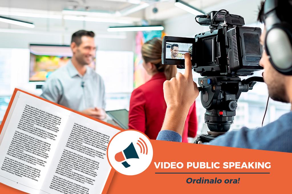 Libro Video Public Speaking di Chiara Alzati